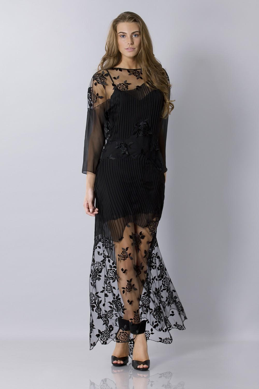 Vendita Abbigliamento Usato FIrmato - Tunica in seta decorata - Blumarine - Drexcode -10