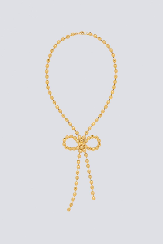 Collana con finitura oro giallo