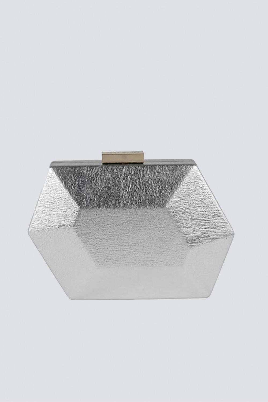Clutch argentata geometrica