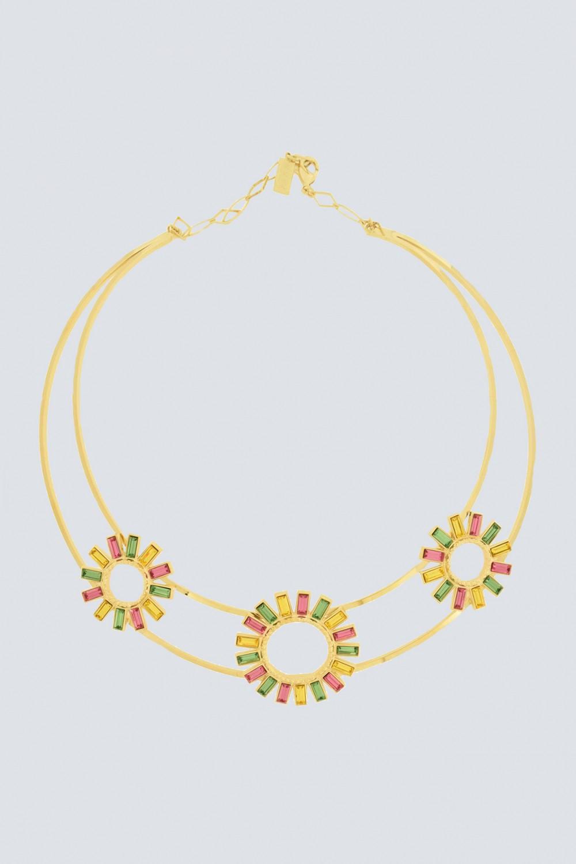 Vendita Abbigliamento Usato FIrmato - Collana con fiori - Natama - Drexcode -1