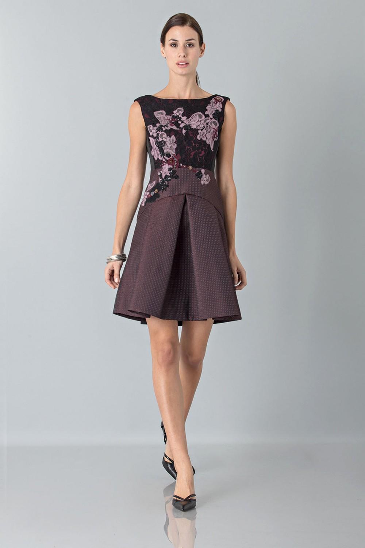 Vendita Abbigliamento Usato FIrmato - Mini abito con ricamo floreale - Antonio Marras - Drexcode -5