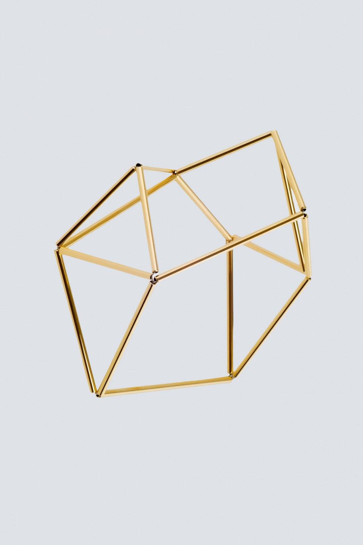 Bracciale origami in rodio