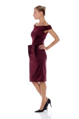 Drexcode - Tubino in stretch duchesse - Zac Posen - Vendita - 5