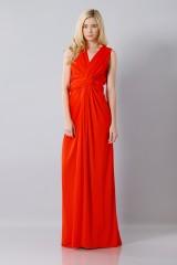 Drexcode - Abito rosso in seta con spacco - Vionnet - Noleggio - 3