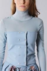 Drexcode - Top strapless con maglia in raso - Antonio Marras - Vendita - 7