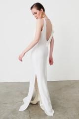 Drexcode - Abito bianco con rouches frontale - Kathy Heyndels - Noleggio - 1