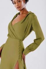 Drexcode - Abito verde con bottoncini laterali - Kathy Heyndels - Vendita - 1