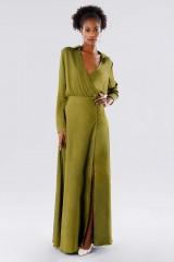 Drexcode - Abito verde con bottoncini laterali - Kathy Heyndels - Vendita - 3