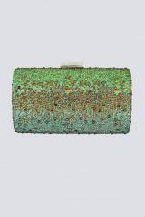 Drexcode - Clutch degrade verde arancio - Anna Cecere - Noleggio - 1