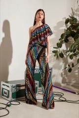 Drexcode - Completo pantalone e top in paillettes - Alcoolique - Noleggio - 3