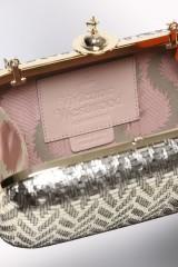 Drexcode - Clutch metallica oro - Vivienne Westwood - Noleggio - 2