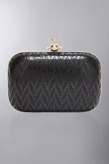 Drexcode - Clutch metallica nera - Vivienne Westwood - Noleggio - 1