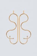 Drexcode - Orecchini a forma di farfalla in oro - Noshi - Noleggio - 1