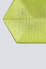 Drexcode - Clutch geometrica limone con strass - Anna Cecere - Noleggio - 4