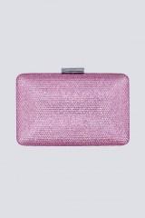Drexcode - Clutch piatta rosa con strass - Anna Cecere - Vendita - 2