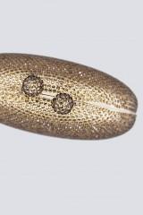 Drexcode - Clutch bronzo con pietre - Anna Cecere - Noleggio - 3