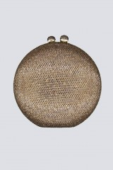 Drexcode - Clutch bronzo con pietre - Anna Cecere - Noleggio - 1