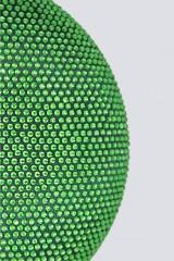 Drexcode - Clutch tonda verde con pietre - Anna Cecere - Noleggio - 2