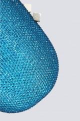 Drexcode - clutch turchese con strass - Anna Cecere - Noleggio - 2