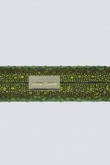 Drexcode - Clutch verde degrade con glitter - Anna Cecere - Noleggio - 2