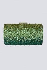 Drexcode - Clutch verde degrade con glitter - Anna Cecere - Noleggio - 1