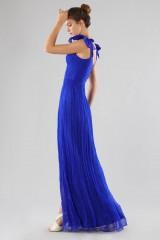 Drexcode - Abito blu bustier con spacco - Cristallini - Noleggio - 4