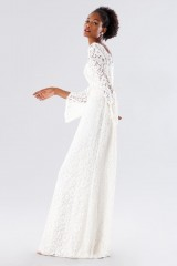 Drexcode - Abito da sposa in pizzo con manica a calla - Daphne - Noleggio - 2
