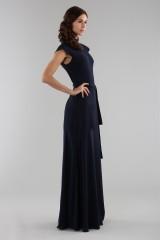 Drexcode - Abito blu con collo alto e scollatura posteriore - ML - Monique Lhuillier - Noleggio - 8