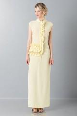 Drexcode - Tunica gialla con rouches - Albino - Vendita - 1