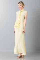 Drexcode - Tunica gialla con rouches - Albino - Noleggio - 3