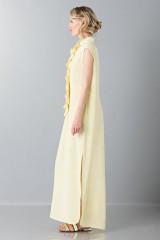 Drexcode - Tunica gialla con rouches - Albino - Vendita - 5