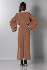Drexcode - Jumpsuit manica lunga-marrone - Albino - Vendita - 4