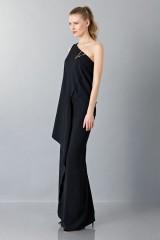 Drexcode - Vestito lungo monospalla nero - Vionnet - Noleggio - 5