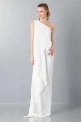 Drexcode - Vestito lungo monospalla bianco - Vionnet - Noleggio - 1