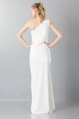 Drexcode - Vestito lungo monospalla bianco - Vionnet - Noleggio - 2
