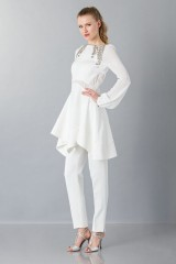 Drexcode - Pantalone bianco in cady - Antonio Berardi - Noleggio - 6