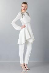 Drexcode - Pantalone bianco in cady - Antonio Berardi - Noleggio - 4