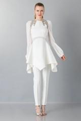 Drexcode - Pantalone bianco in cady - Antonio Berardi - Noleggio - 1