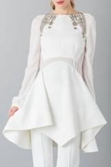 Drexcode - Pantalone bianco in cady - Antonio Berardi - Noleggio - 7