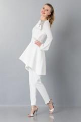 Drexcode - Pantalone bianco in cady - Antonio Berardi - Noleggio - 5