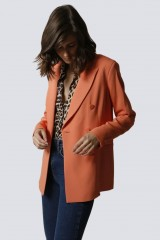 Drexcode - Tailleur pantalone salmone - Giuliette Brown - Vendita - 3