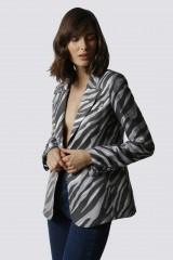 Drexcode - Tailleur pantalone zebrato - Giuliette Brown - Noleggio - 2