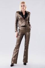 Drexcode - Completo giacca e pantalone dorati  - Giuliette Brown - Noleggio - 1
