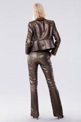 Drexcode - Completo giacca e pantalone dorati  - Giuliette Brown - Noleggio - 3