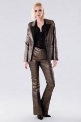 Drexcode - Completo giacca e pantalone dorati  - Giuliette Brown - Noleggio - 4