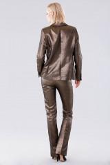 Drexcode - Completo giacca e pantalone dorati  - Giuliette Brown - Noleggio - 6