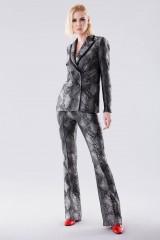 Drexcode - Completo giacca e pantalone con motivo pitonato - Giuliette Brown - Noleggio - 1