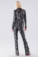 Drexcode - Completo giacca e pantalone con motivo pitonato - Giuliette Brown - Noleggio - 3