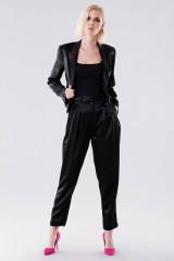 Drexcode - Completo lucido nero con giacca e pantalone - Giuliette Brown - Vendita - 1
