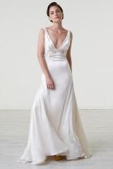 Drexcode - Abito da sposa con cintura di pietre - Iris Noble - Noleggio - 4